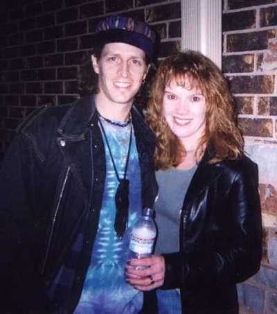 Matt Johnson with Shelley